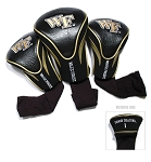 Wake Forest Demon Deacons Golf Contour 3 pack Head Covers