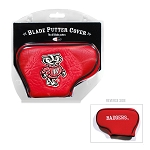 Wisconsin Badgers Blade Golf Putter Cover