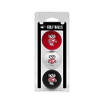 Wisconsin Badgers Golf Ball Clamshell