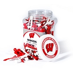 Wisconsin Badgers Golf 175 Tee Jar