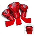 Wisconsin Badgers Golf Contour 3 pack Head Covers