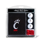 Cincinnati Bearcats Embroidered Golf Gift Set