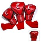 Cincinnati Bearcats Golf Contour 3 pack Head Covers