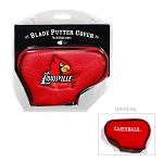 Louisville Cardinals Blade Golf Putter Cover
