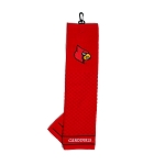 Louisville Cardinals Embroidered Golf Towel