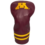 Minnesota Golden Gophers Vintage Golf Driver Head Cover