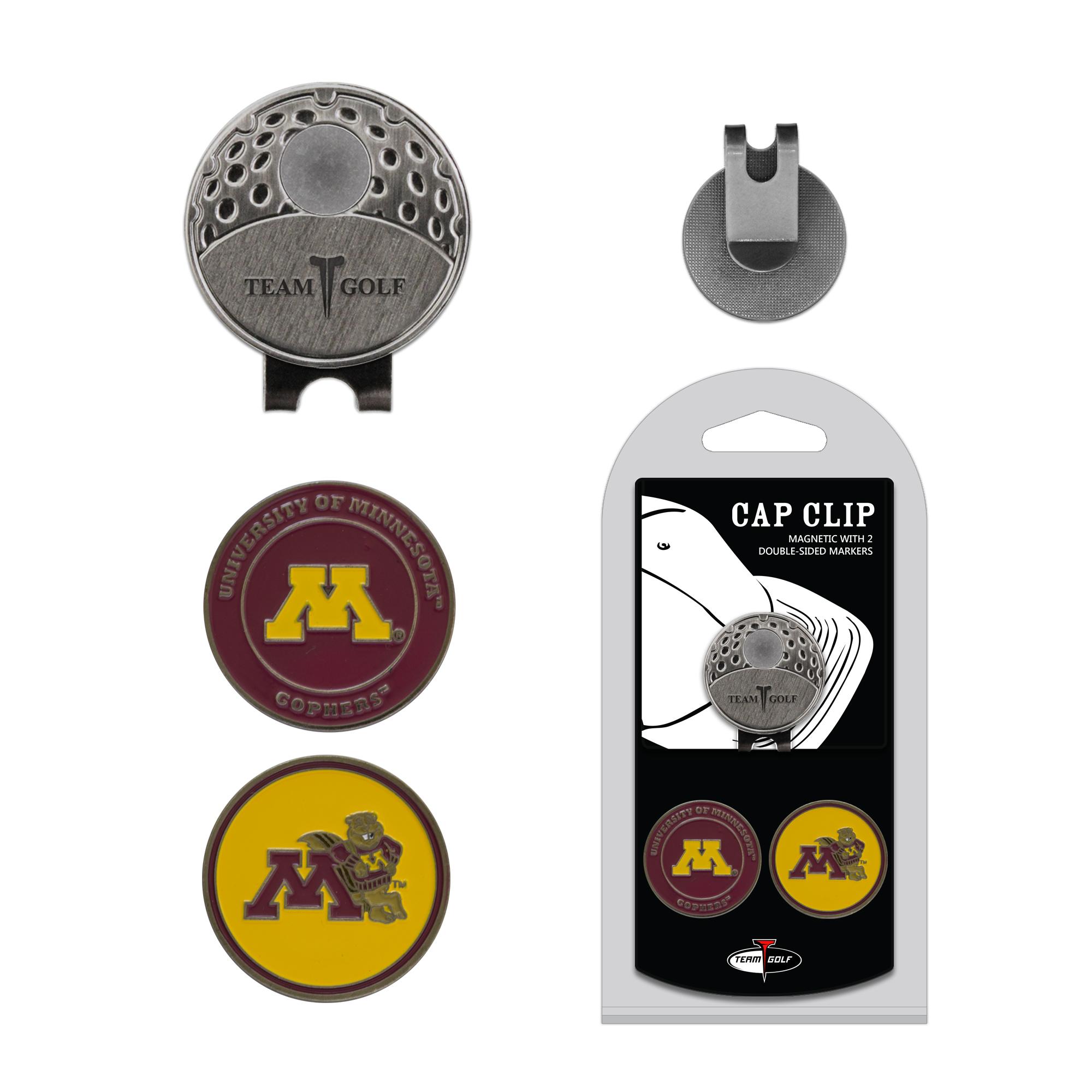 61c1ab59b15e Minnesota Golden Gophers 2 Marker Golf Hat Clip