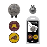 Minnesota Golden Gophers 2 Marker Golf Hat Clip