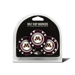 Minnesota Golden Gophers Golf 3 Pack Poker Chip