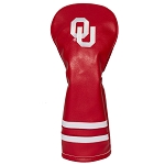 Oklahoma Sooners Vintage Golf Fairway Head Cover