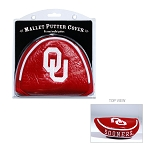 Oklahoma Sooners Mallet Golf Putter Cover