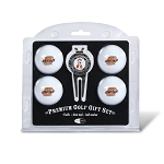 Oklahoma State Cowboys 4 Ball Divot Tool Golf Gift Set
