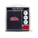 Mississippi Rebels Embroidered Golf Gift Set