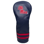 Mississippi Rebels Vintage Golf Fairway Head Cover