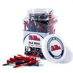 Mississippi Rebels Golf 175 Tee Jar