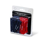 Mississippi Rebels Golf 50 Imprinted Tee Pack