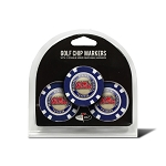 Mississippi Rebels Golf 3 Pack Poker Chip