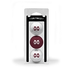 Mississippi State Bulldogs Golf Ball Clamshell