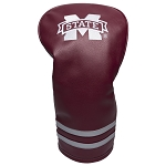 Mississippi State Bulldogs Vintage Golf Driver Head Cover