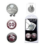 Mississippi State Bulldogs 2 Marker Golf Hat Clip