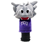 Texas Christian University Horned Frogs Mascot Golf Head Cover