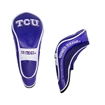 Texas Christian University Horned Frogs Hybrid Golf Head Cover