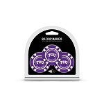 Texas Christian University Horned Frogs Golf 3 Pack Poker Chip