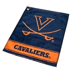 Virginia Cavaliers Woven Golf Towel