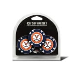 Virginia Cavaliers Golf 3 Pack Poker Chip