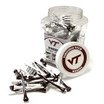 Virginia Tech Hokies Golf 175 Tee Jar