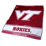 Virginia Tech Hokies Woven Golf Towel