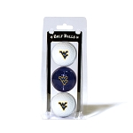West Virginia Mountaineers Golf Ball Clamshell