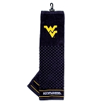 West Virginia Mountaineers Embroidered Golf Towel