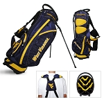 West Virginia Mountaineers Golf Fairway Stand Bag