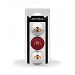 Iowa State Cyclones Golf Ball Clamshell