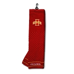 Iowa State Cyclones Embroidered Golf Towel