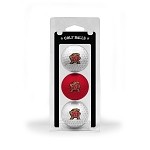 Maryland Terrapins Golf Ball Clamshell