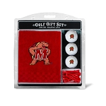 Maryland Terrapins Embroidered Golf Gift Set