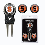 Syracuse Orange Golf Divot Tool Set