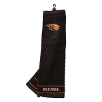 Oregon State Beavers Embroidered Golf Towel