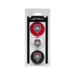 New Mexico Lobos Golf Ball Clamshell