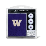 Washington Huskies Embroidered Golf Gift Set