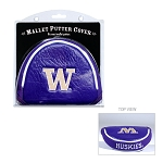 Washington Huskies Mallet Golf Putter Cover