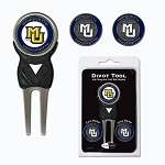 Marquette Golden Eagles Golf Divot Tool Set