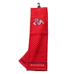 Fresno State Bulldogs Embroidered Golf Towel