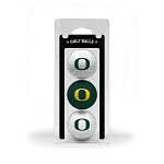 Oregon Ducks Golf Ball Clamshell