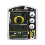 Oregon Ducks Embroidered Golf Gift Set