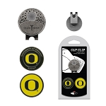 Oregon Ducks 2 Marker Golf Hat Clip