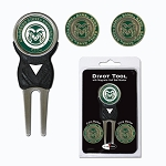 Colorado State Rams Golf Divot Tool Set