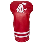 Washington State Cougars Vintage Golf Driver Head Cover